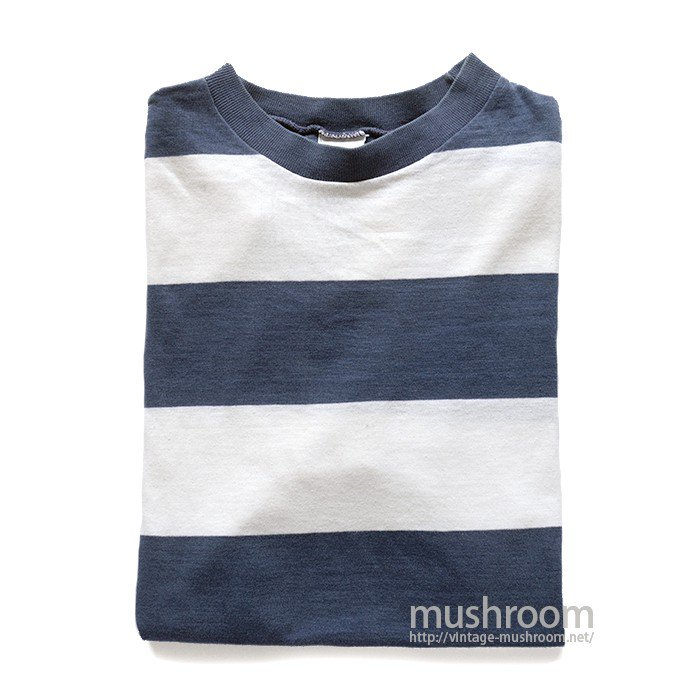 CAMPUS WIDE BORDER  STRIPE T-SHIRT