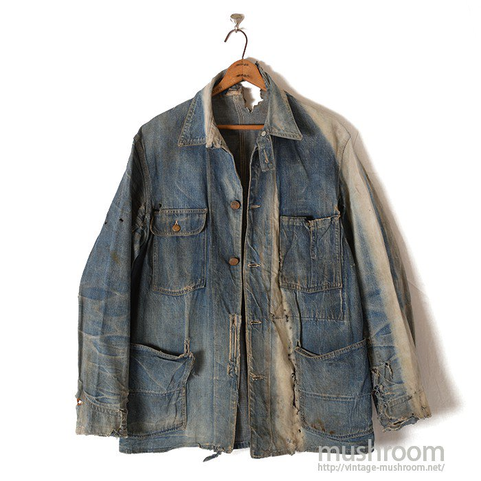 Lee 91-J DENIM COVERALL WITH CHINSTRAP