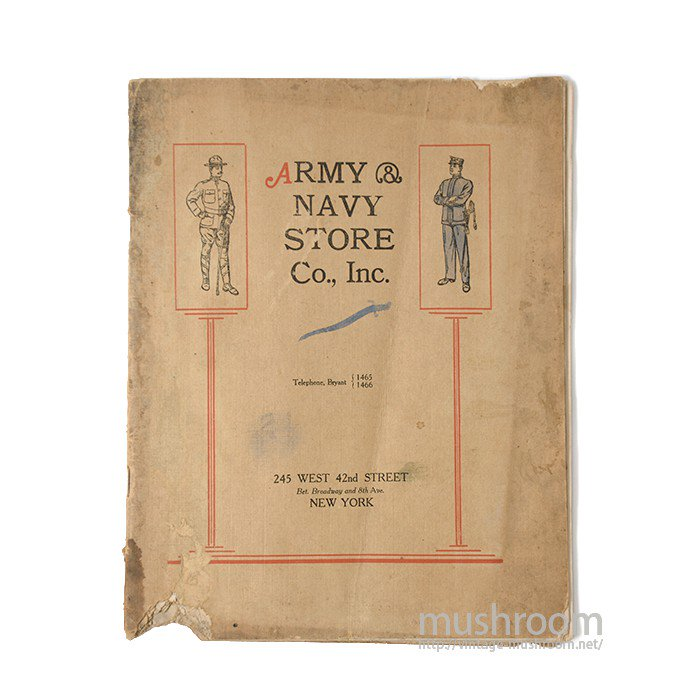 ARMY NAVY STORE CO.,INC CATALOG( 1913 )