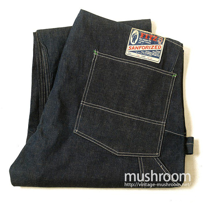 FITZ DENIM OVERALL( DEADSTOCK )