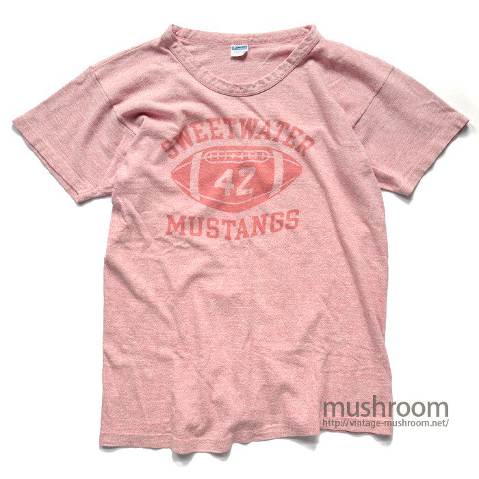 CHAMPION FOOTBALL PRINT  T-SHIRT