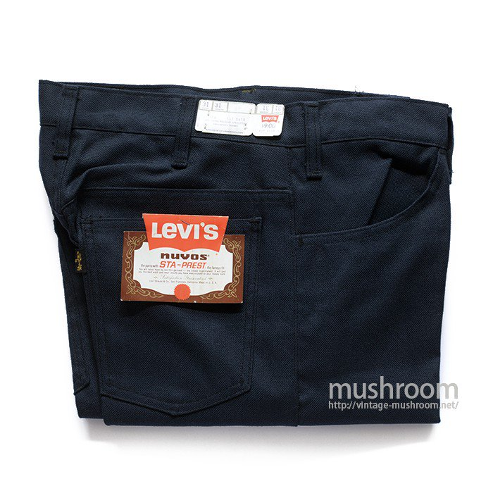 LEVI'S 647-4418 STA-PREST TAPERED PANTS( W31/DEADSTOCK )