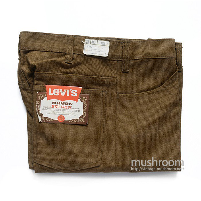 LEVI'S 645-4424 STA-PREST TAPERED PANTS( W33/DEADSTOCK )