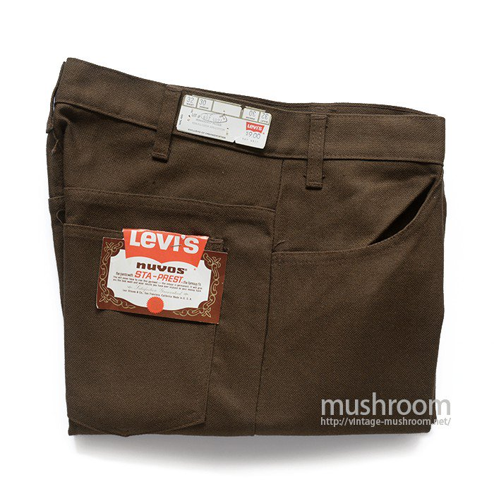 LEVI'S 647-4427 STA-PREST TAPERED PANTS( W32/DEADSTOCK )