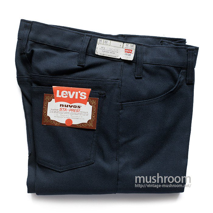 LEVI'S 647-4418 STA-PREST TAPERED PANTS( W30/DEADSTOCK )