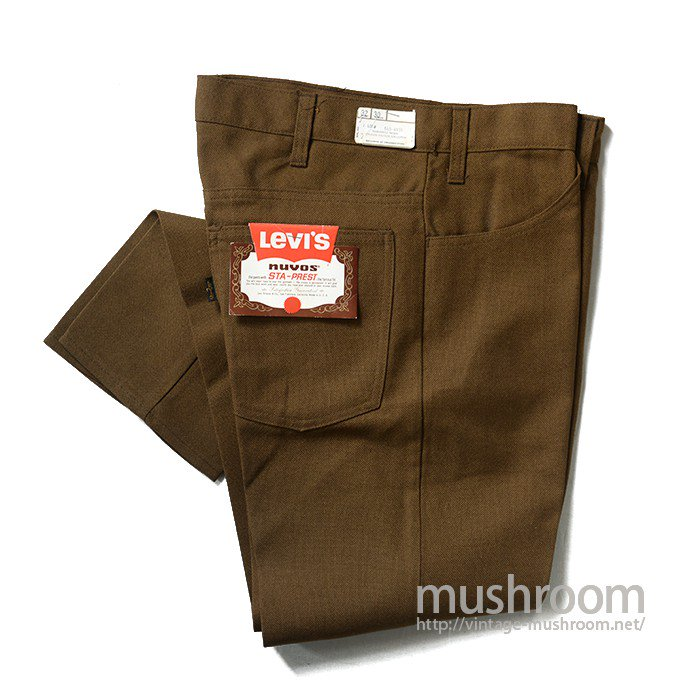 LEVI'S 645-4424 STA-PREST TAPERED PANTS( W32/DEADSTOCK )