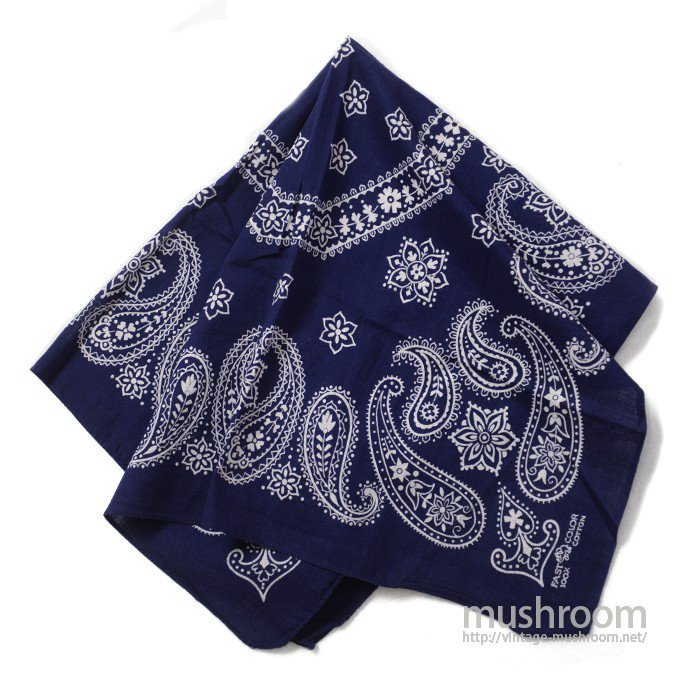 OLD COTTON BANDANA( MINT/UNUSED/7 )