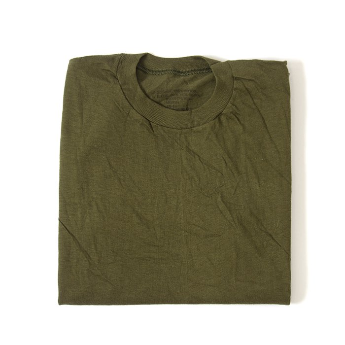 U.S.MILITARY PLAIN T-SHIRT( DEADSTOCK )