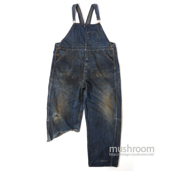UNKNOWN DENIM OVERALLS