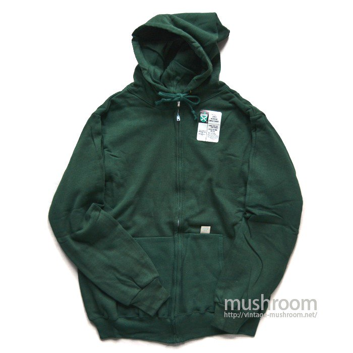 SPRUCE FULL-ZIP SWEAT HOODY( L/GREEN/DEADSTOCK )
