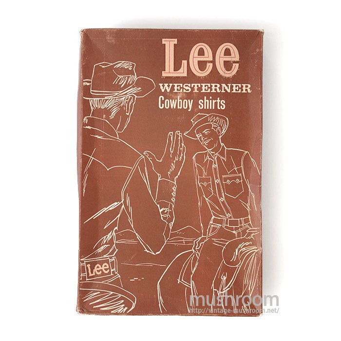 LEE WESTERNER COWBOY SHIRT PAPER BOX