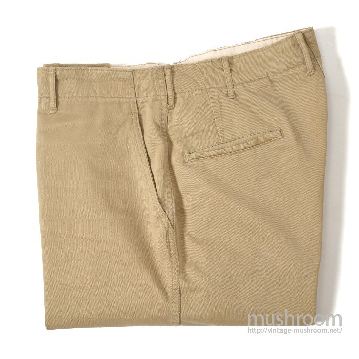 U.S.ARMY 45-KAHKI CHINO TROUSERS