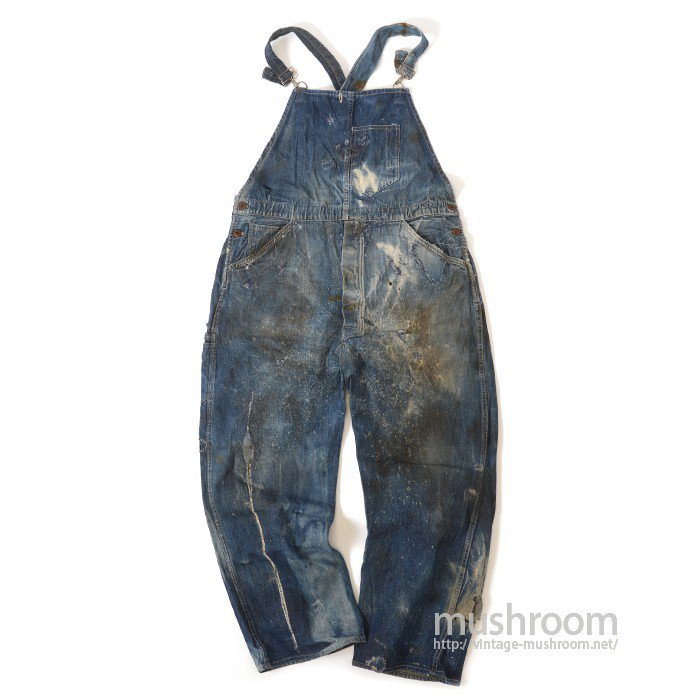 THE BOSS DENIM OVERALLS