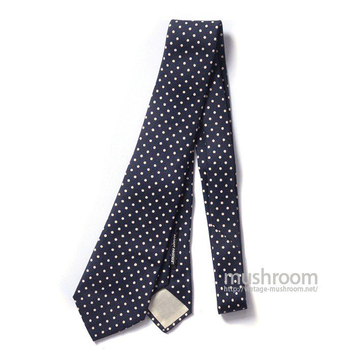 BROOKS BROTHERS POLKA DOT TIE( DEADSTOCK )