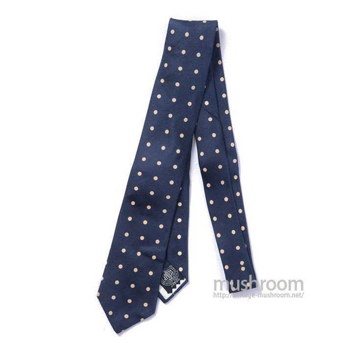 J.PRESS POLKA DOT TIE( DEADSTOCK )