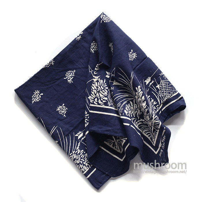 OLD COTTON BANDANA( DEADSTOCK )