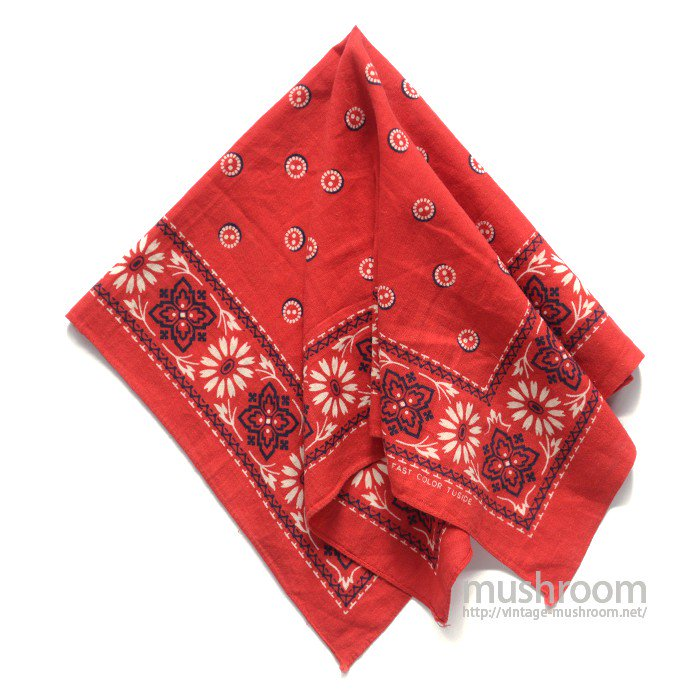 OLD TUSIDE COTTON BANDANA( ONE-WASHED )