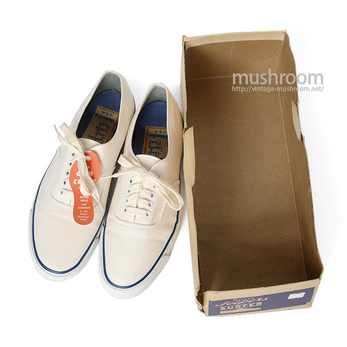 SEARS JEEPERS SURFER CANVAS SHOES( 8/DEADSTOCK )