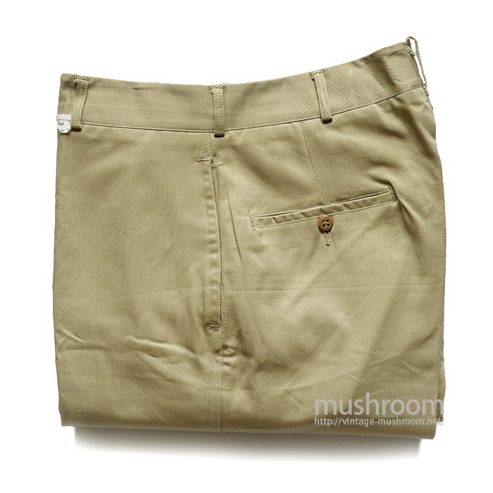 U.S.NAVAL CLOTHING DEPT CHINO TROUSERS( DEADSTOCK )