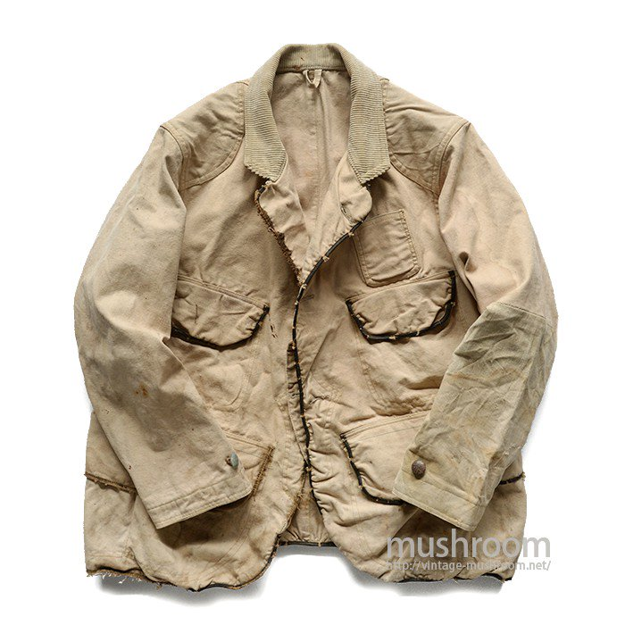 OLD CANVAS HUNTING JACKET