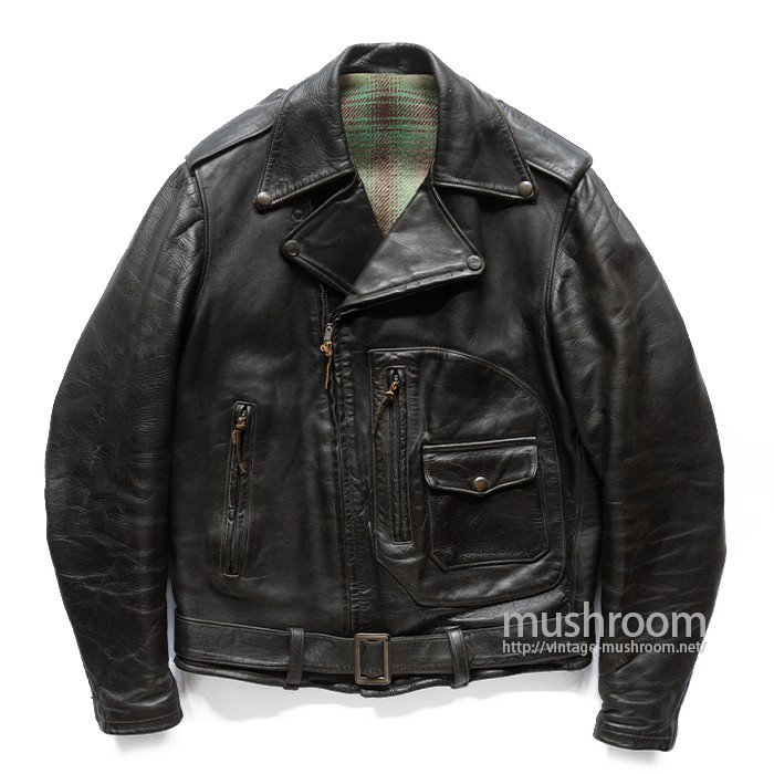 HERCULES M/C LEATHER JACKET