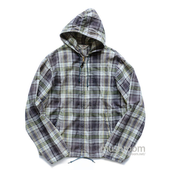 CAMPUS MADRAS PLAID COTTON PARKA