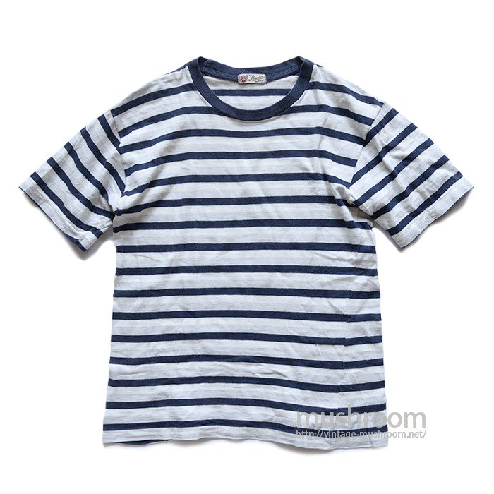 MANSCO BORDER STRIPE T-SHIRT