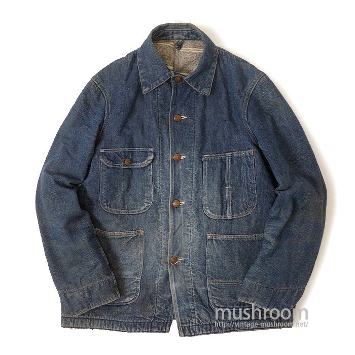 UNKNOWN DENIM COVERALL WITH BLANKET LINNING