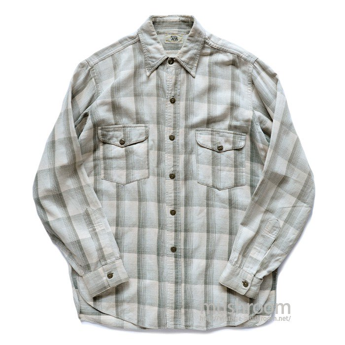 BLACKBEAR PLAID FLANNEL WORK SHIRT