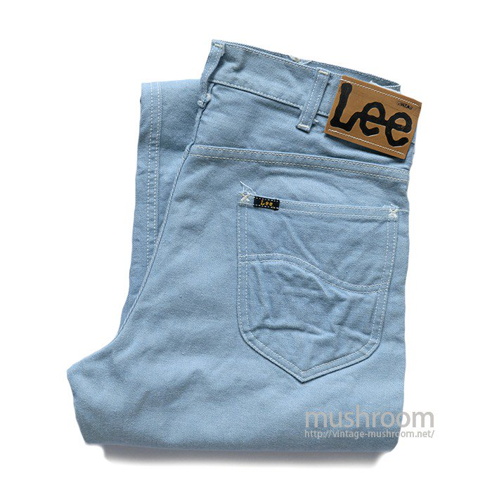 Lee 108Z BLUE DENIM PANTS( W31/MINT )