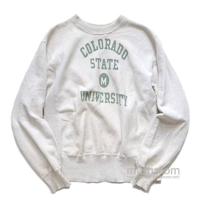 CHAMPION TWO-TONE COLLEGE REVERSE WEAVE