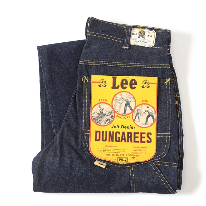 Lee 191Z DUNGAREE DENIM PAINTER PANTS( DEADSTOCK )