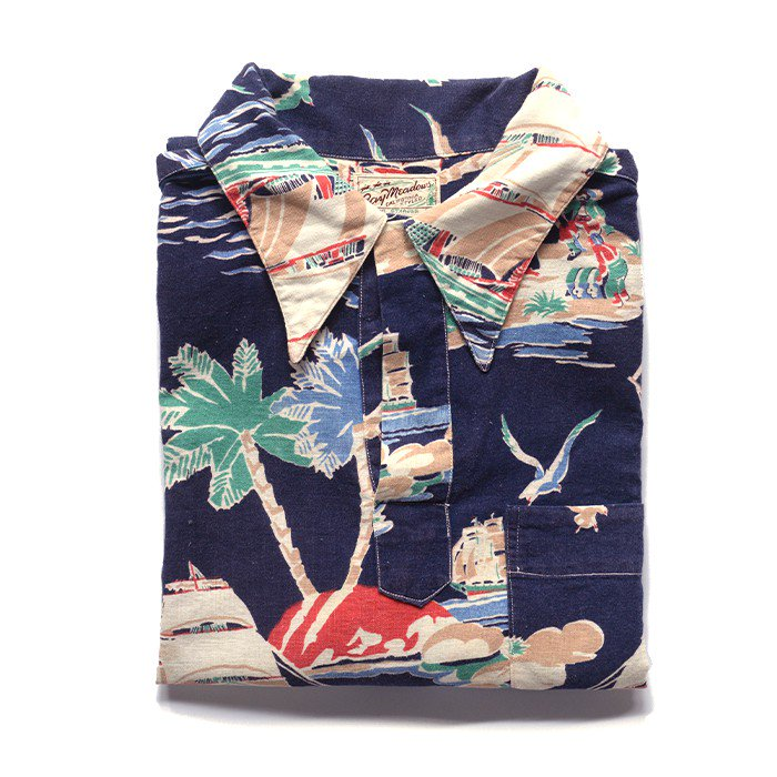 LEVI'S SHORT SLEEVE HAWAIIAN COTTON SHIRT