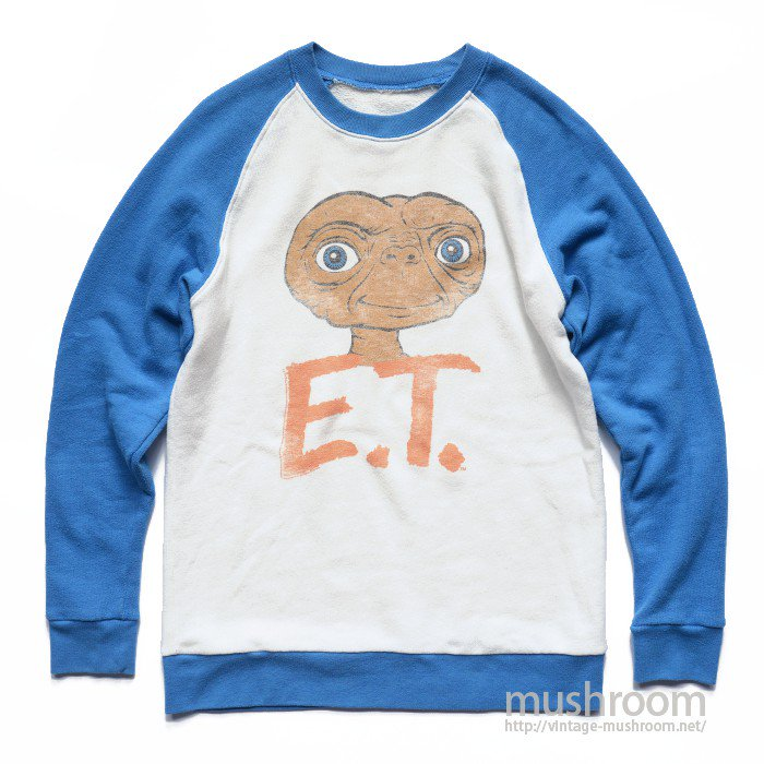 E.T TWO-TONE SWEAT SHIRT