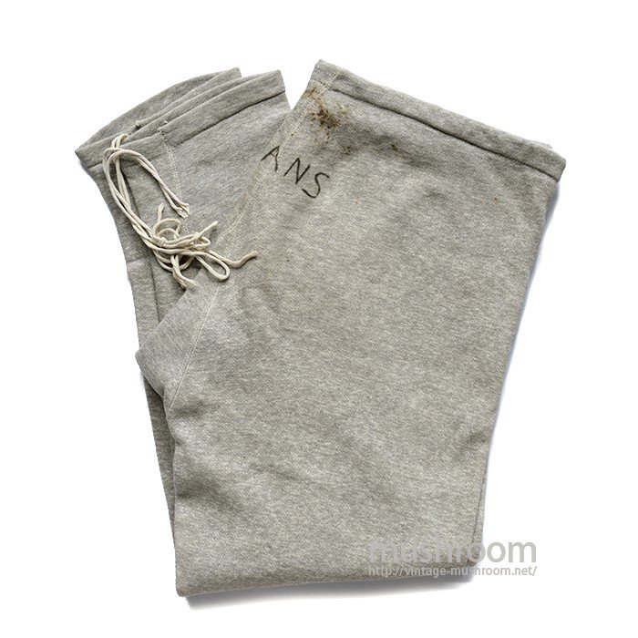 WILSON ALL COTTON  ATHLETIC SWEAT PANTS