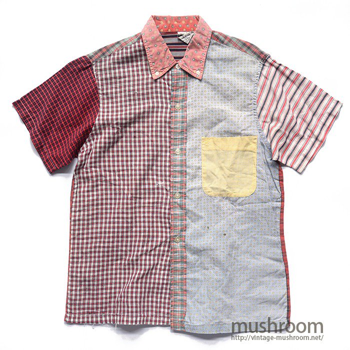 OLD CRAZY PATTERN SHORT-SLEEVE BD SHIRT
