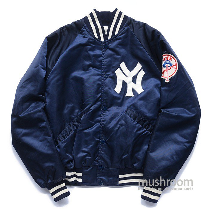 NY YANKEES NYLON STUDIUM JACKET( MADE BY STARTER )