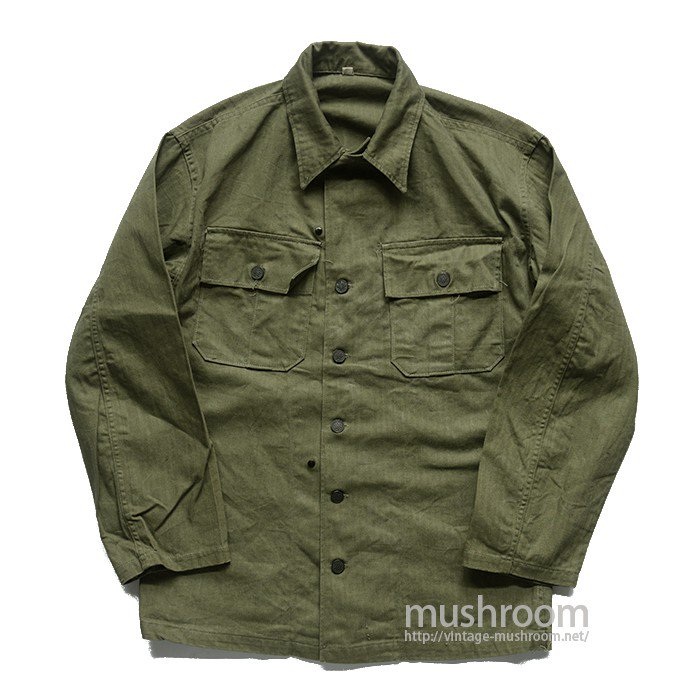 WW2 U.S.MILITARY HBT UTILITY JACKET( 36R/DEADSTOCK )