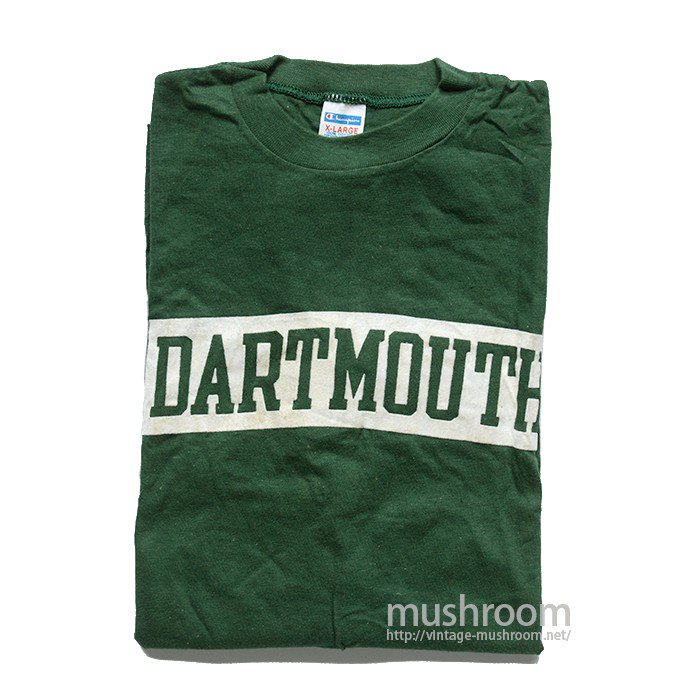 CHAMPION  DARTMOUTH UNIV T-SHIRT( XL/DEADSTOCK )