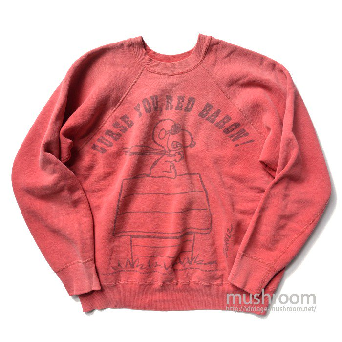 SPRUCE SNOOPY RED BARON SWEAT SHIRT