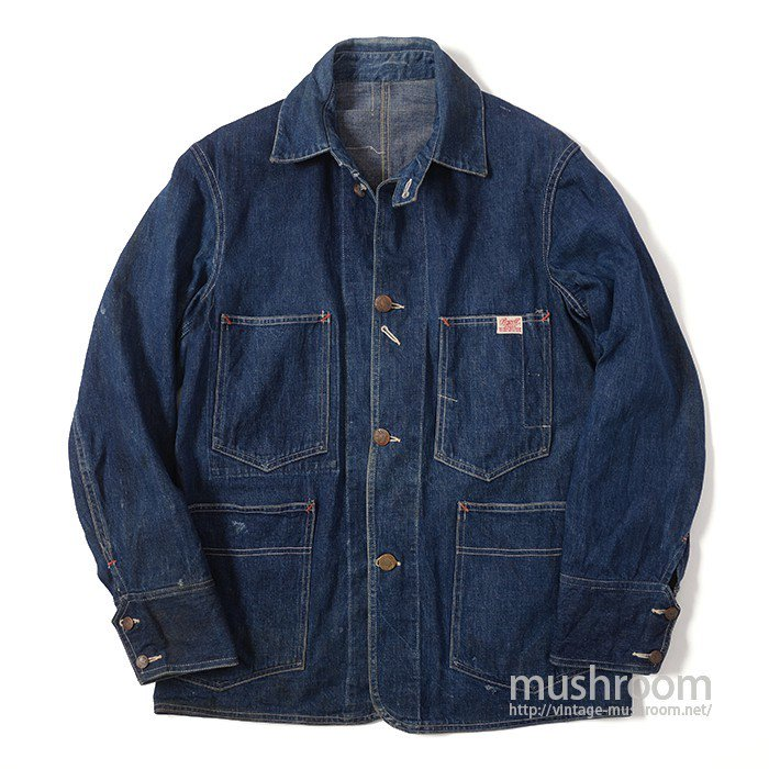 POWELL BRAND DENIM COVERALL