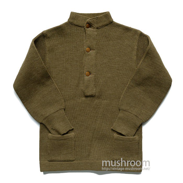WW1 ABERCROMBIE MILITARY KNIT JACKET