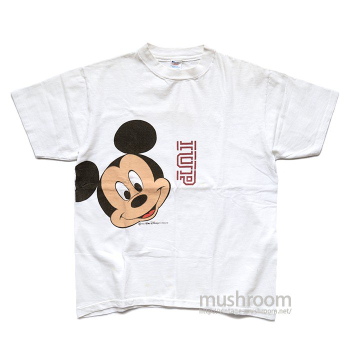 CHAMPION MICKY MOUSE PRINT T-SHIRT