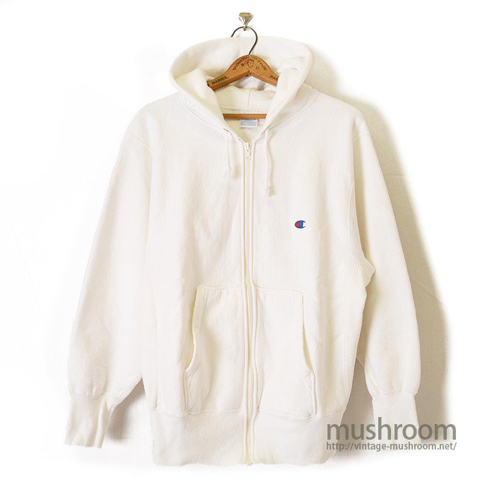 CHAMPION FULL-ZIP REVERSE WEAVE HOODY( M/MINT)