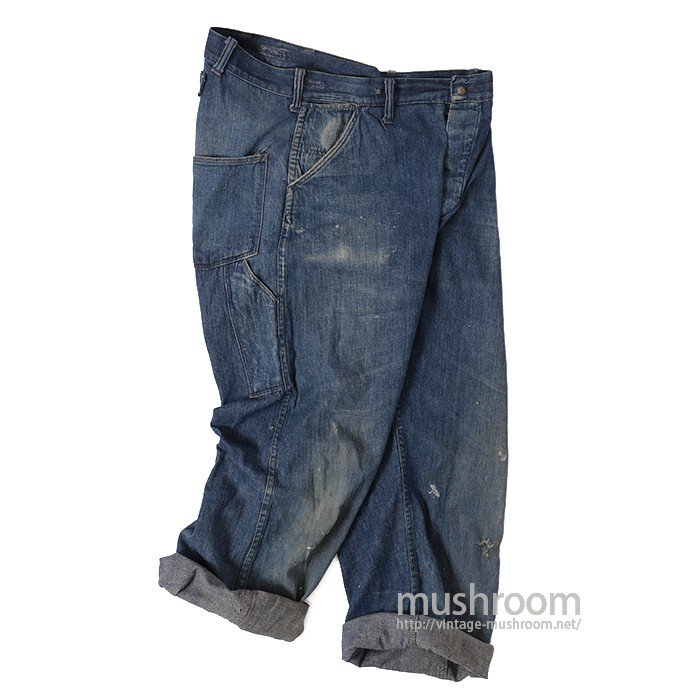 MONTGOMERY WARD DENIM WORK PANTS