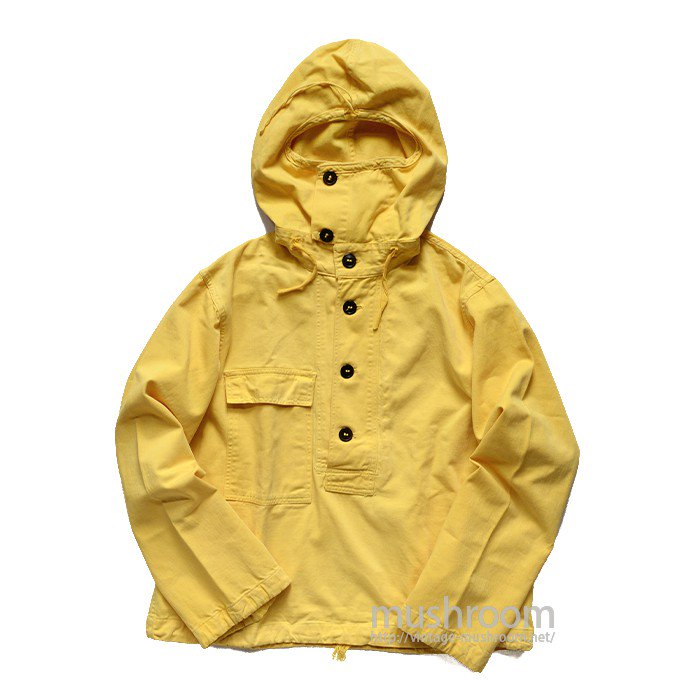 WW2 U.S.NAVY PULLOVER COTTON PARKA( S/YELLOW )