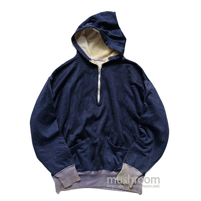 CHAMPION HALF-ZIP TWO TONE ATHLETIC HOODY