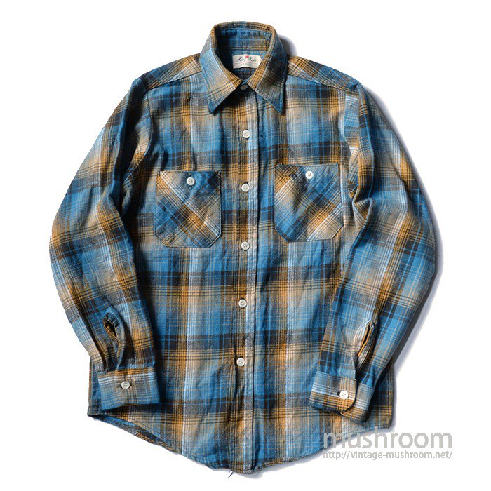 KING KOLE PLAID FLANNEL SHIRT( MINT )