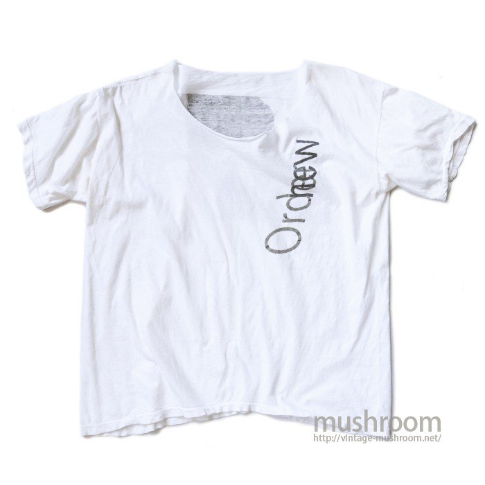 NEW ORDER TOUR T-SHIRT