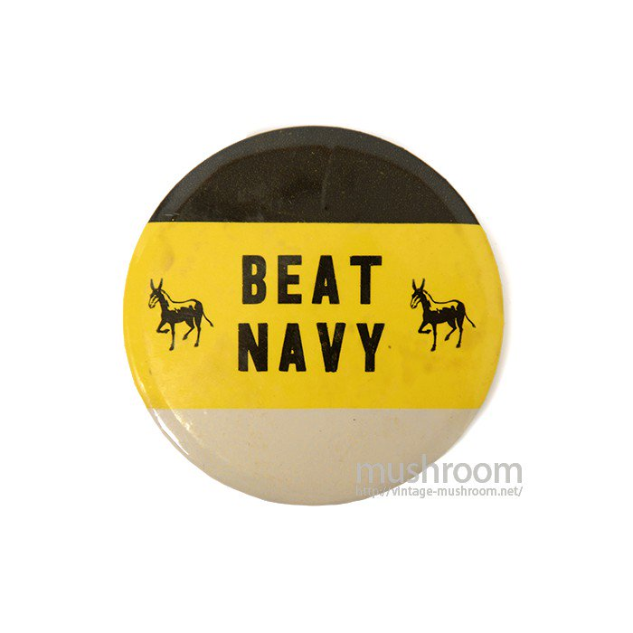 BEAT NAVY PIN BACK